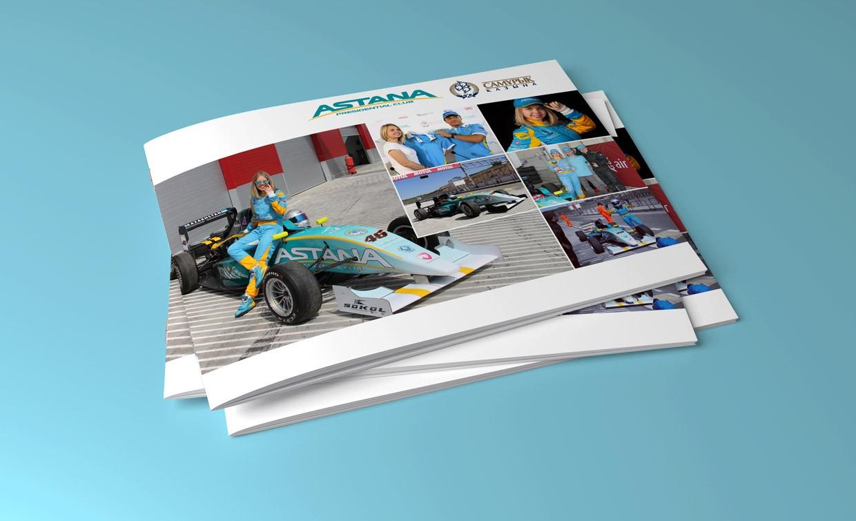 Разработка дизайна презентации спортсмена для поиска потенциальных спонсоров и инвесторов.